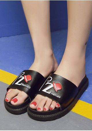 PZ Heniao Flat Slide Sandals