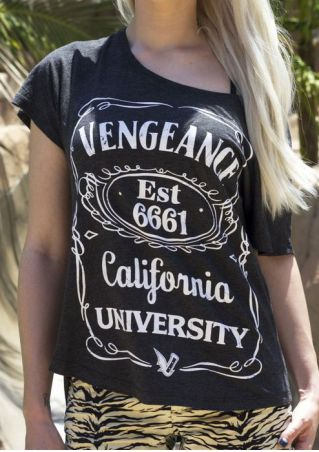 Vengeance California University O-Neck T-Shirt