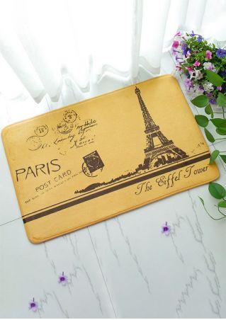 Paris The Eiffel Tower Floor Rug