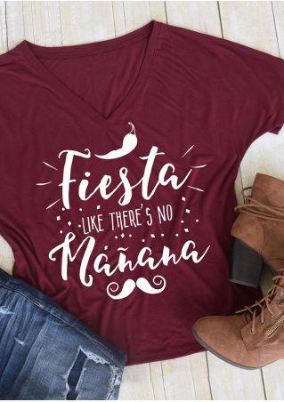 Fiesta Like There's No Manana T-Shirt