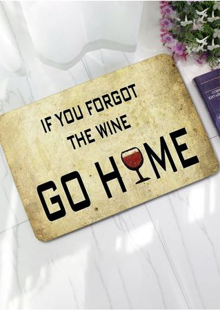 If You Forgot The Wine Floor Rug