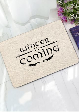 Winter Is Coming Floor Rug