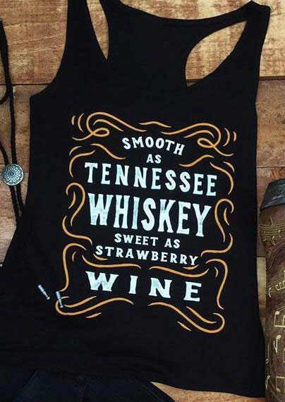 Smooth As Tennessee Whiskey Tank Bellelily