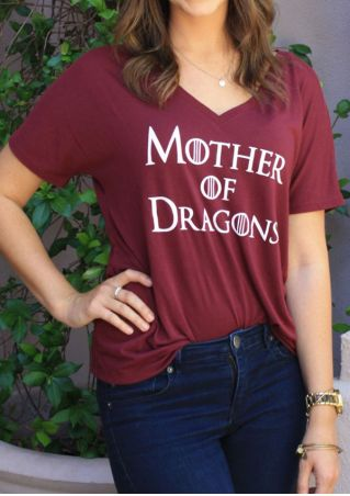 Mother Of Dragons T-Shirt without Necklace