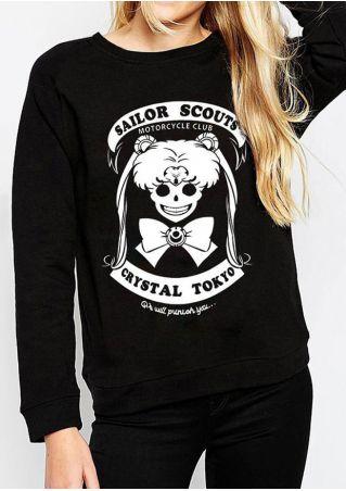 Sailor Scouts Long Sleeve Sweatshirt