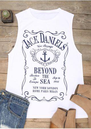 Jack Daniels O-Neck Tank