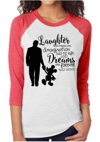 Laughter Is Timeless Baseball T-Shirt