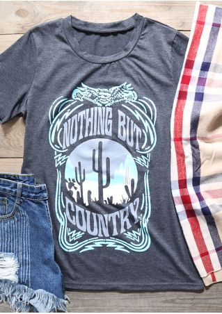 Nothing But Country Desert Cactus T-Shirt