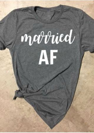 Married AF Short Sleeve T-Shirt