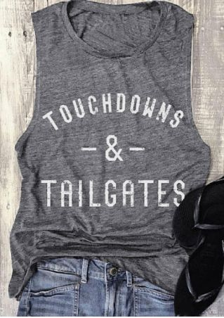 Touchdowns & Tailgates O-Neck Tank