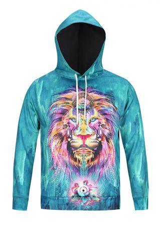 The Lion King Printed Drawstring Hoodie