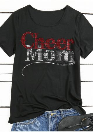 Cheer Mom Short Sleeve T-Shirt
