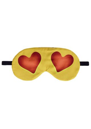 Heart Emoji Sleep Eye Mask