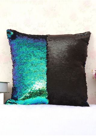 Sequined Pillow Case