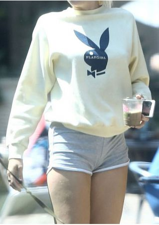 Playgirl Bunny Long Sleeve Sweatshirt
