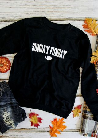 Sunday Funday Long Sleeve Sweatshirt