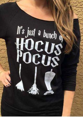 Halloween Hocus Pocus Long Sleeve Sweatshirt