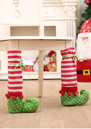 Christmas Table Leg Cover
