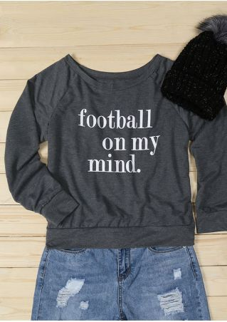 Football On My Mind Sweatshirt