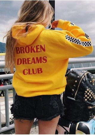 Broken Dreams Club Plaid Hoodie
