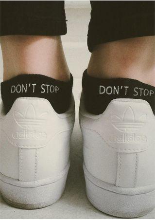 Don't Stop Warm Socks