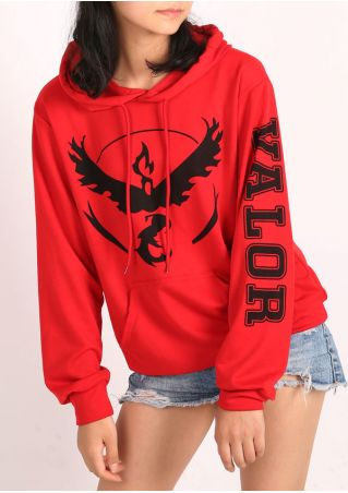 Pokemon Go Valor Pocket Hoodie