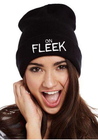 On Fleek Knitted Warm Hat