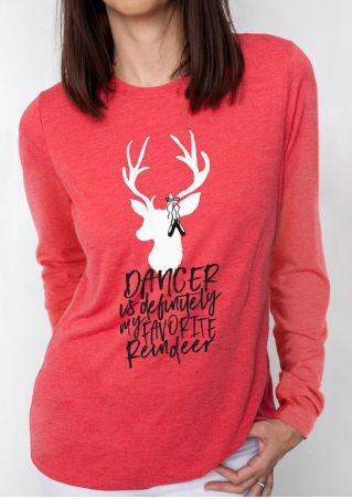 Christmas Dancer Is Definitely My Favorite Reindeer T-Shirt