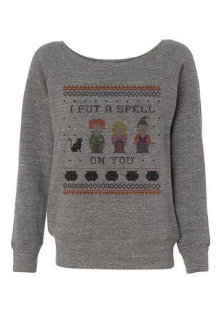 Halloween Hocus Pocus Sanderson Sisters Sweatshirt
