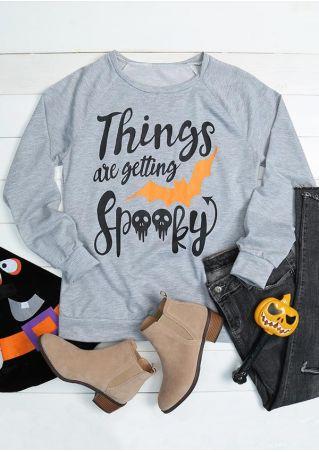 Halloween Things Are Getting Spooky Sweatshirt