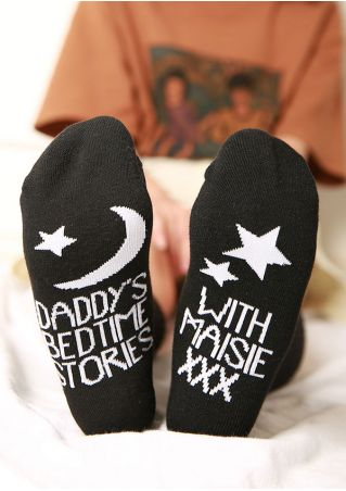 Daddy's Bedtime Stories Socks