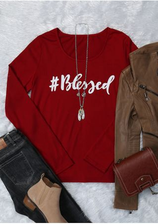 Blessed Long Sleeve O-Neck T-Shirt