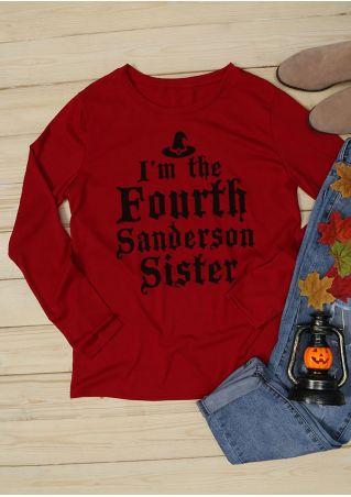 Halloween Hocus Pocus I'm The Fourth Sanderson Sister T-Shirt
