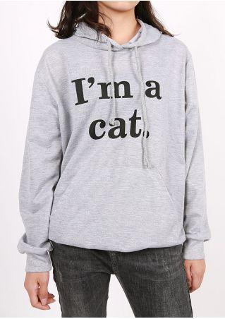I'm A Cat Pocket Hoodie