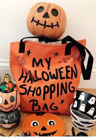 My Halloween Shopping Bag