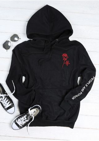 People Are Poison Pocket Hoodie