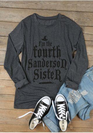 Halloween I'm The Fourth Sanderson Sister T-Shirt