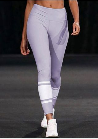 Striped Detail Elastic Waist Sport Pants