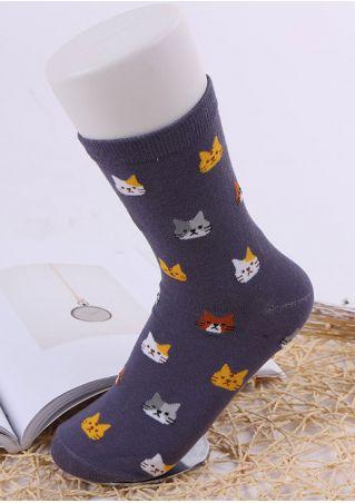 Cat Warm Comfortable Socks