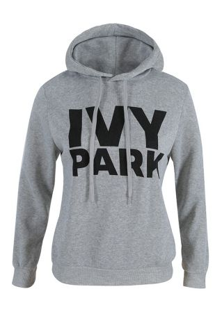 Ivy Park Drawstring Long Sleeve Hoodie