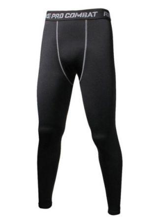 Combat Elastic Waist Skinny Sport Pants