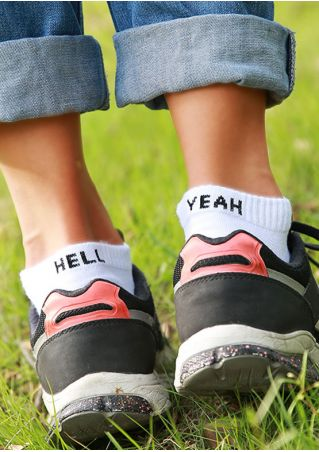Hell Yeah Warm Socks