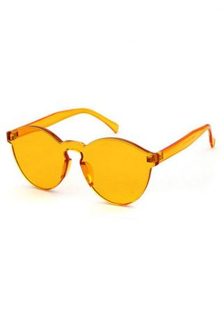 Retro Cat Eye Transparent Sunglasses
