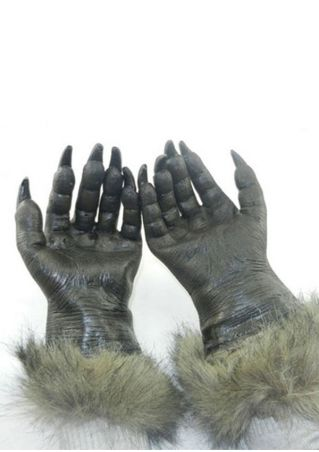 Halloween Cosplay Horror Wolf Paws Gloves