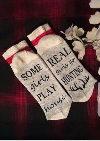 Some Girls Play House Socks