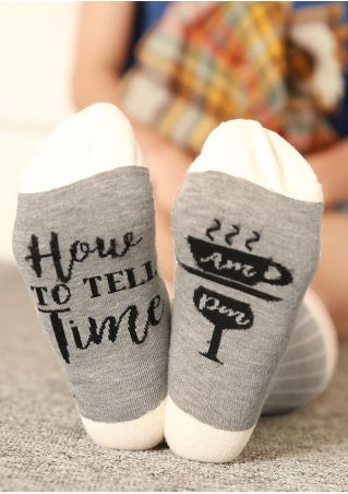 How To Tell Time Socks