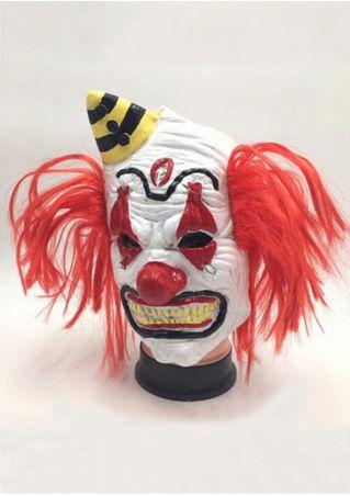 Halloween Clown Wig Mask
