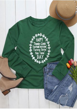 Happy Thanks Givin' Day Sweatshirt