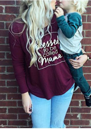 Blessed To Be Called Mama O-Neck T-Shirt