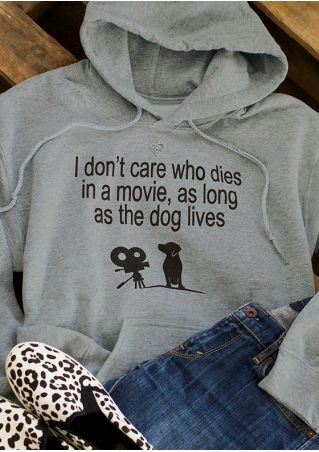 As Long As The Dog Lives Hoodie